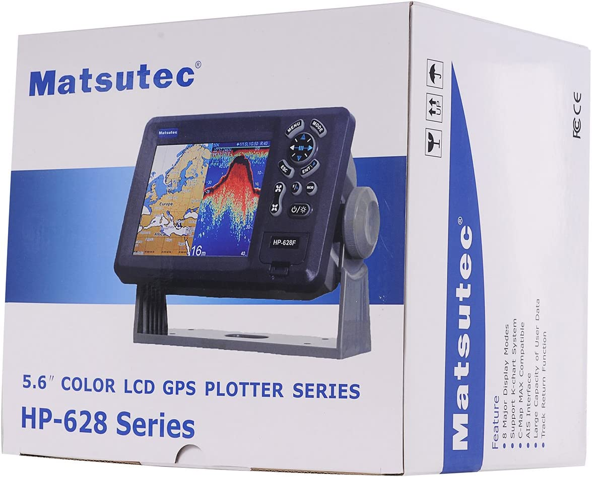 Matsutec HP-628F Marino Color Fishfinder - Rollo de Doble ...