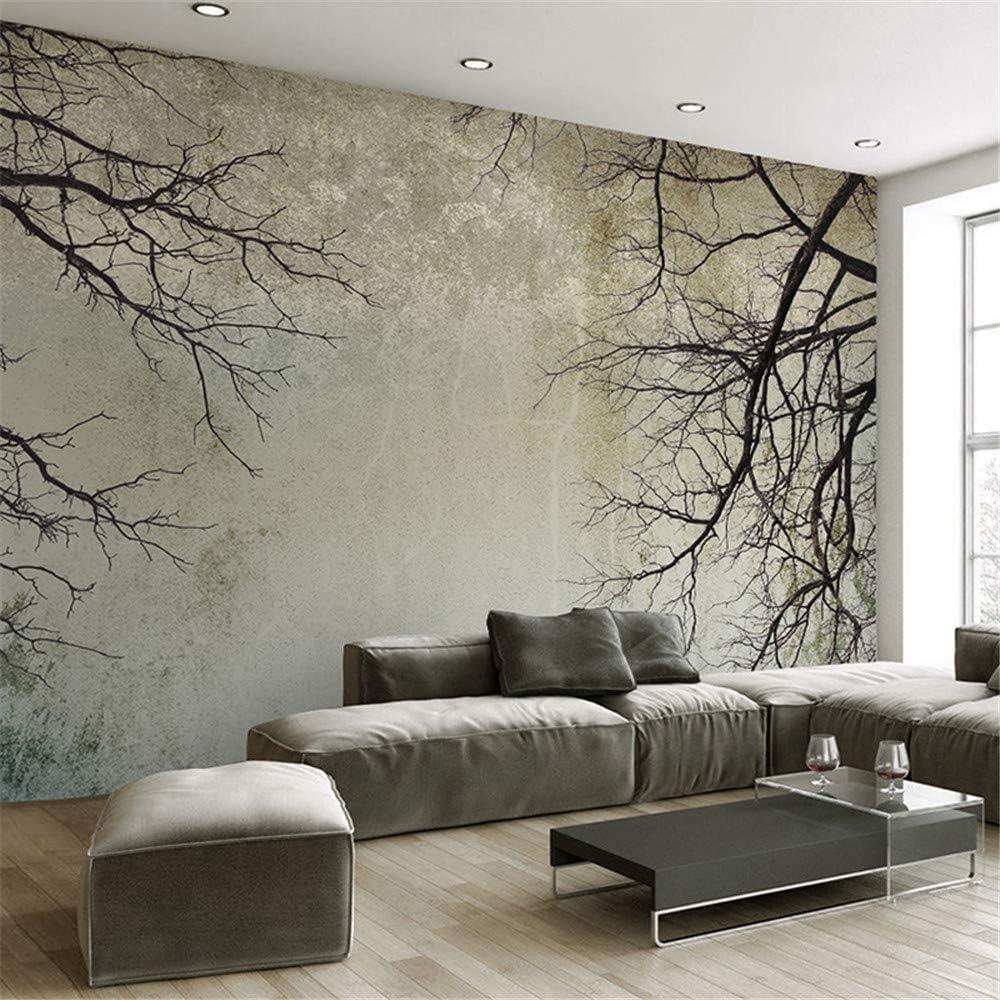 Worryd Photo Wallpaper 3d Creative Abstract Home Decor Nordic Style Tree Aste Sky Papel De Parede Desktop Wall Picture Wallpaper 3d Amazon De Baumarkt