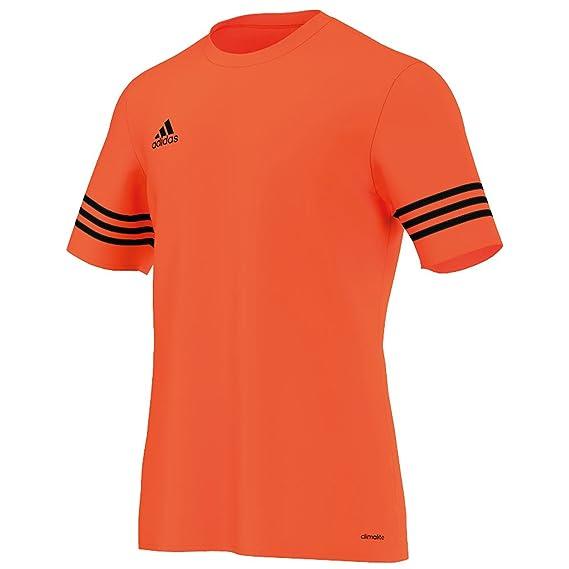 Camiseta de manga corta Entrada 14 para hombre, de la marca Adidas, para fútbol: Amazon.es: Deportes y aire libre
