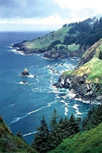"Buyenlarge The Lookout at Otter Crest - Gallery Wrapped 24""X36"" Canvas Print, 24"" X 36"""