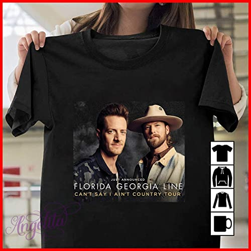 """Florida Georgia Line /""""Country Music/"""" Personalized T-shirts"""