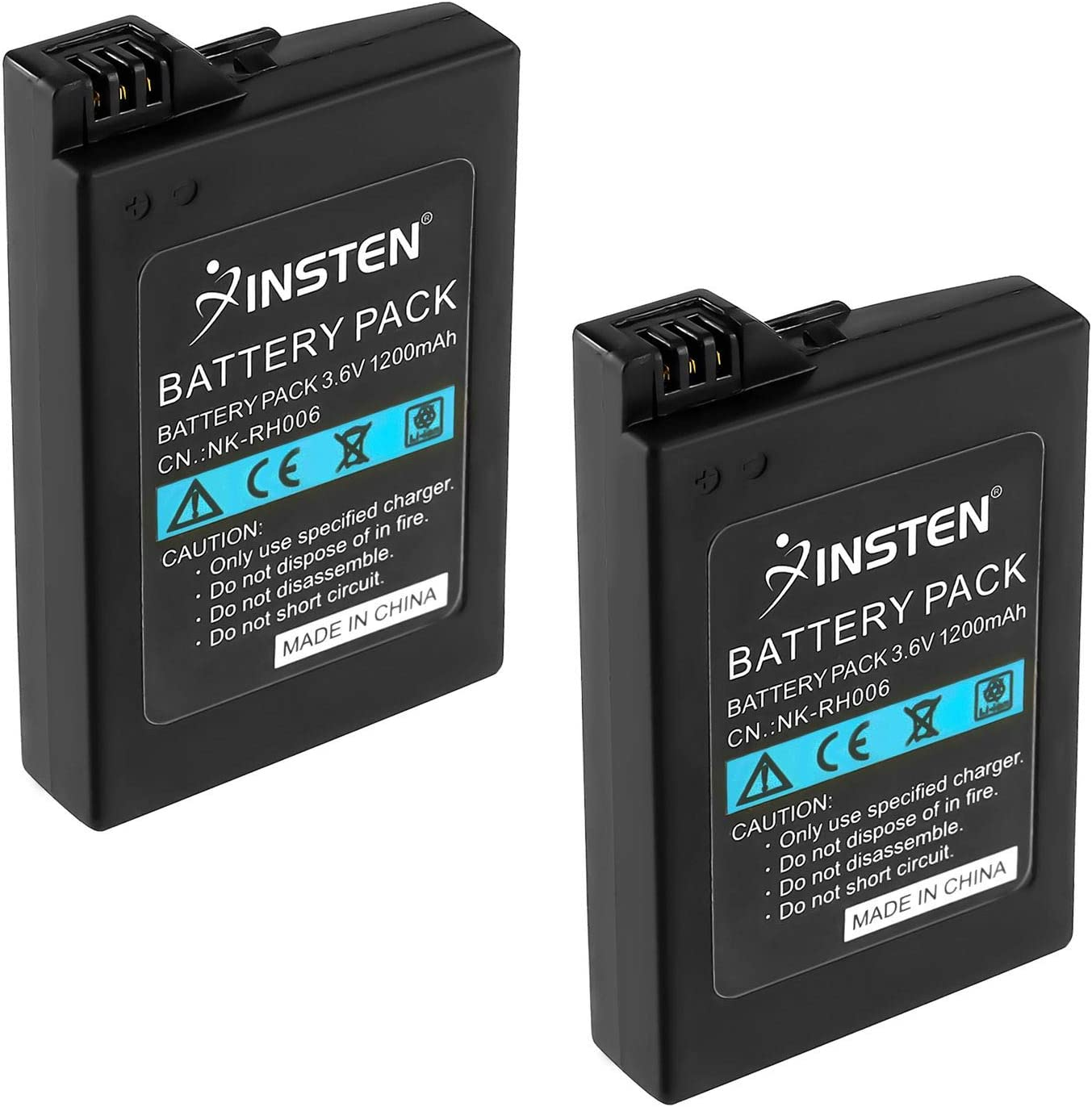 Amazon.com: Insten 2Pcs High Capacity Replacement Battery ...