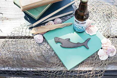 Mermaid Bottle Opener Nautical Beach Ocean Bar Boat Party Rustic Decor Brown