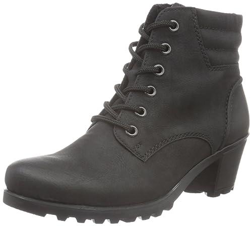 Línea de meta de despeje Barato Newest Zapatos grises estilo militar Rieker para mujer Envío gratuito extremadamente GEeAr