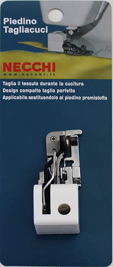 Prensatelas para cortar y coser tela – Original Necchi: Amazon.es ...