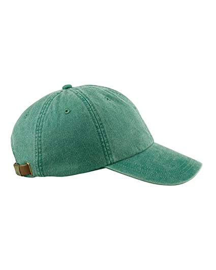 f159192791c00 Amazon.com  Adams 6-Panel Low-Profile Washed Pigment-Dyed Cap ...