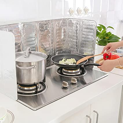 Superbe VANTEAM U2013 Kitchen Oil Splash Guard Cooking, Oil Anti Splash, Aluminium Oil  Screen