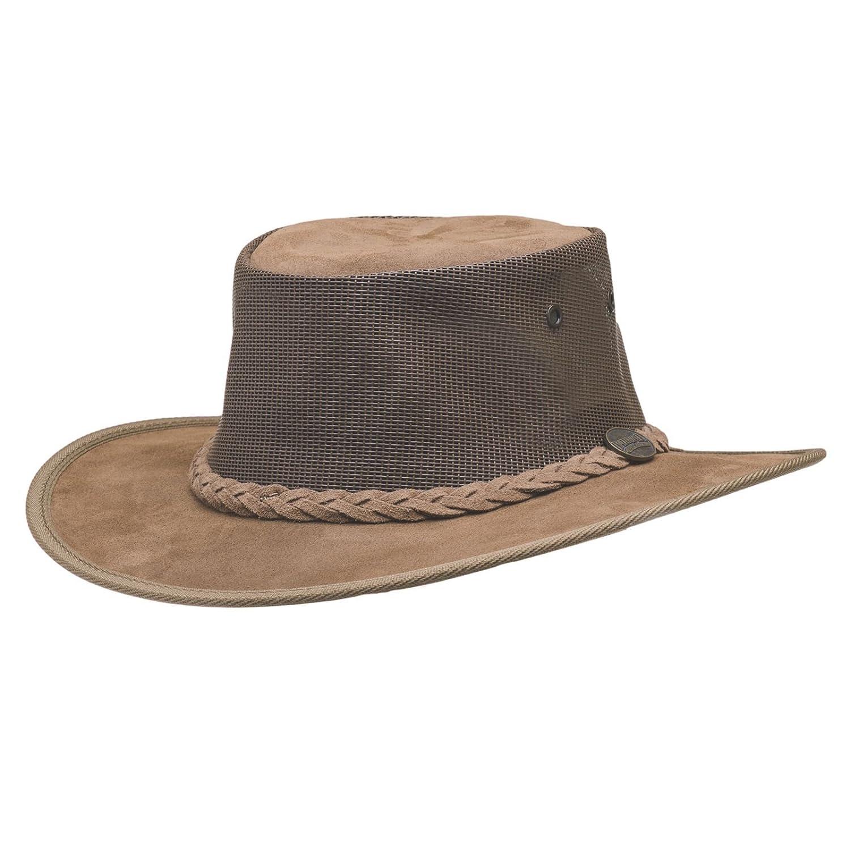 Barmah 1064 Foldaway Suede Cooler Hat - M 57cm
