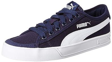 detailed look aaf27 9cb32 Puma Boy's Smash v2 Vulc CV Sneakers