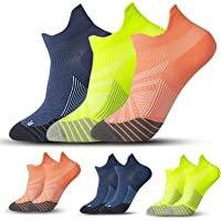 3 Pairs Compression Running Socks for Men & Women - T Tersely Low Cut No Show Athletic Socks for Stamina Circulation…