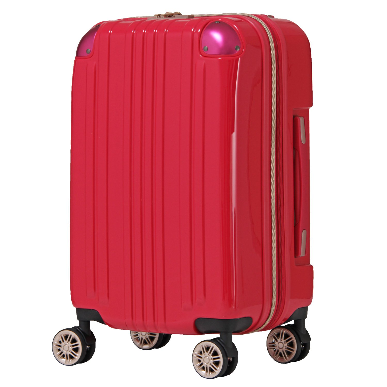 【レジェンドウォーカー】LEGEND WALKER スーツケース アルミフレーム 鏡面ボディ TSAロック 軽量 機内持込~大型 5122 B0798FVJ14 Mサイズ(フレーム)|マゼンタピンク マゼンタピンク Mサイズ(フレーム)