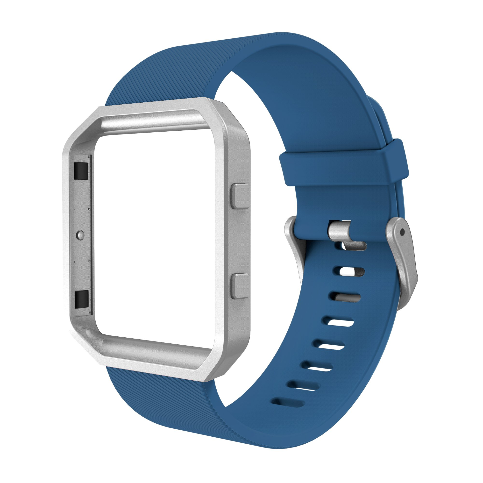 Simpeak for Fitbit Blaze Band with Frame, Replacement Silicone Sport Band Strap with Case for Fitbit Blaze Smart Watch product image