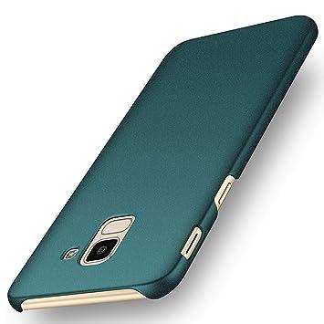 deconext Funda Samsung J6(2018), Carcasa Ultra Slim Anti-Rasguño y Resistente Huellas Dactilares Protectora Caso de Duro Cover Case para Samsung ...