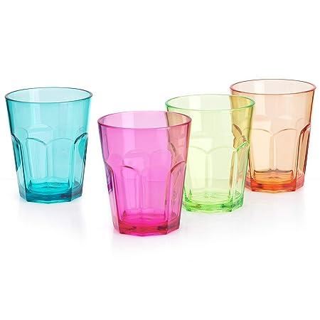 Fiesta de acrílico Flamefield Soda cristal 340/340 ml - juego de ...