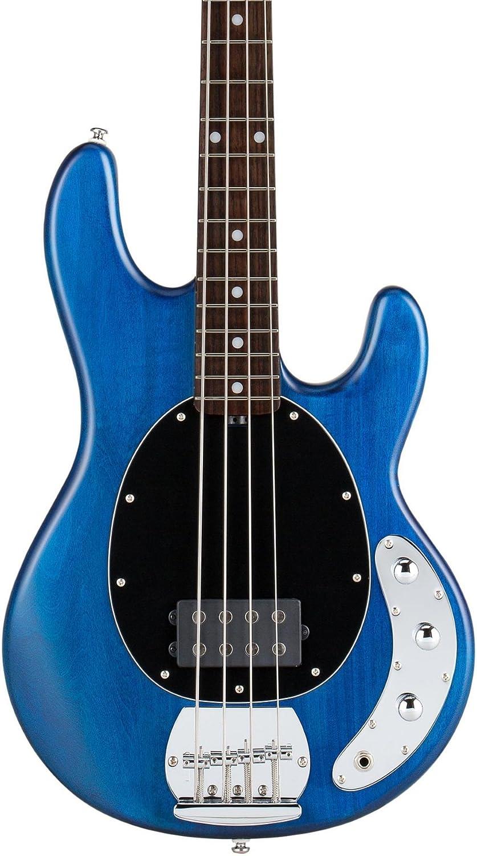 Sterling by MUSICMAN / S.U.B. RAY4 Trans Blue Stain スターリン B00GIUPYLG Trans Blue Satin Trans Blue Satin