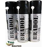 BRADOL Cadenas 400 ml. Pack 3 unidades. Lubricante