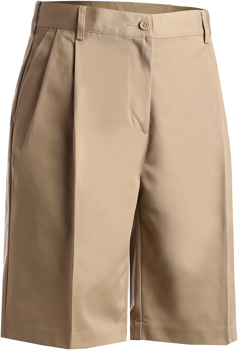 Edwards Garment Womens Moisture Wicking Utility Pleated Front Short