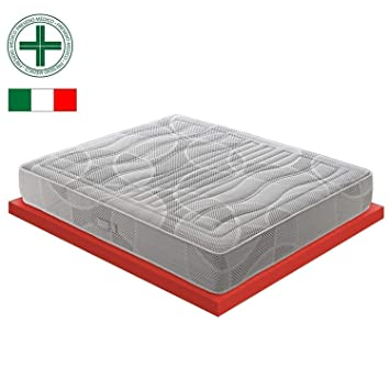 M & D, colchón de espuma viscolástica con 11 zonas diferentes; 7 cm
