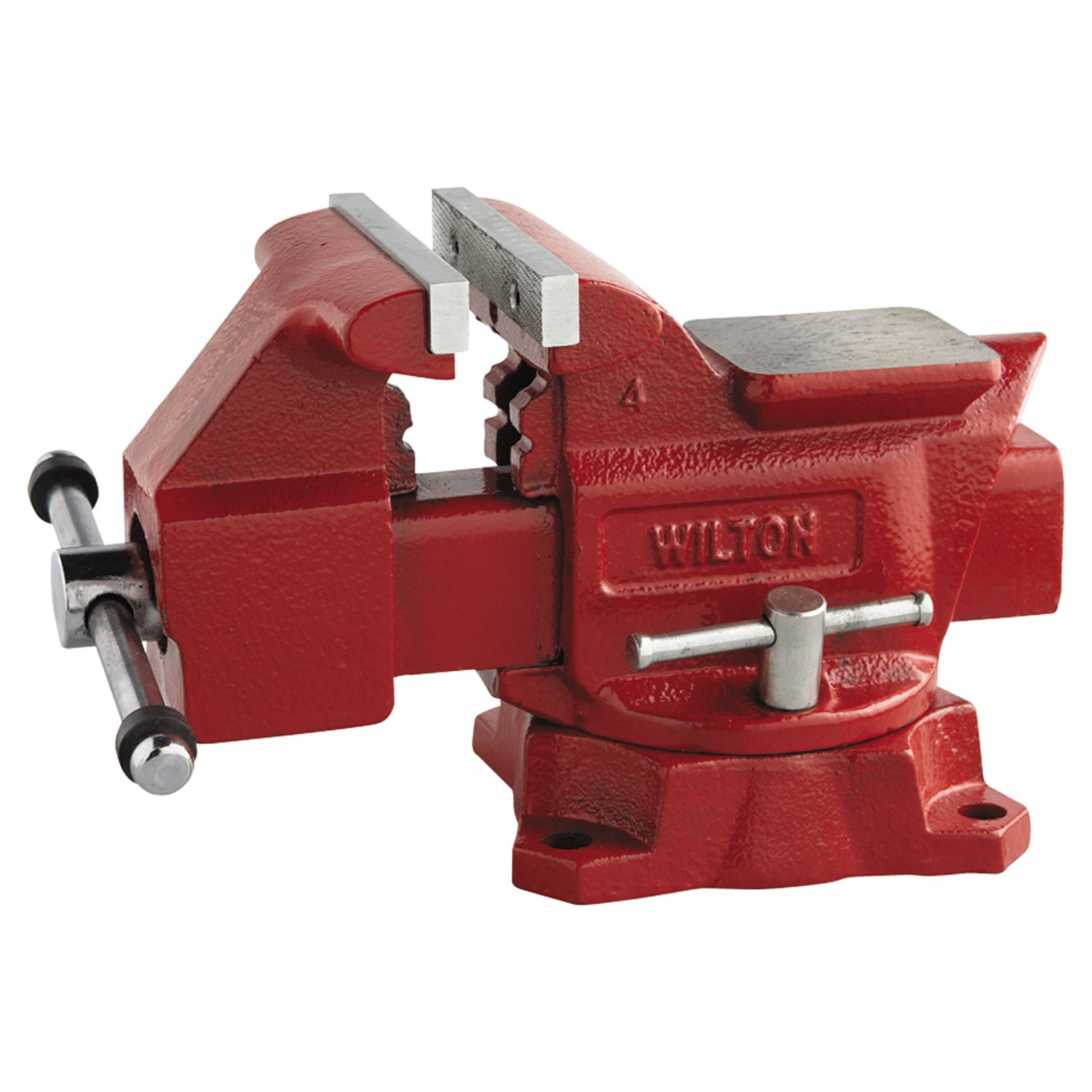 Wilton 11126 674 4-1/2-Inch Jaw Width by 4-Inch Opening Utility Workshop Vise