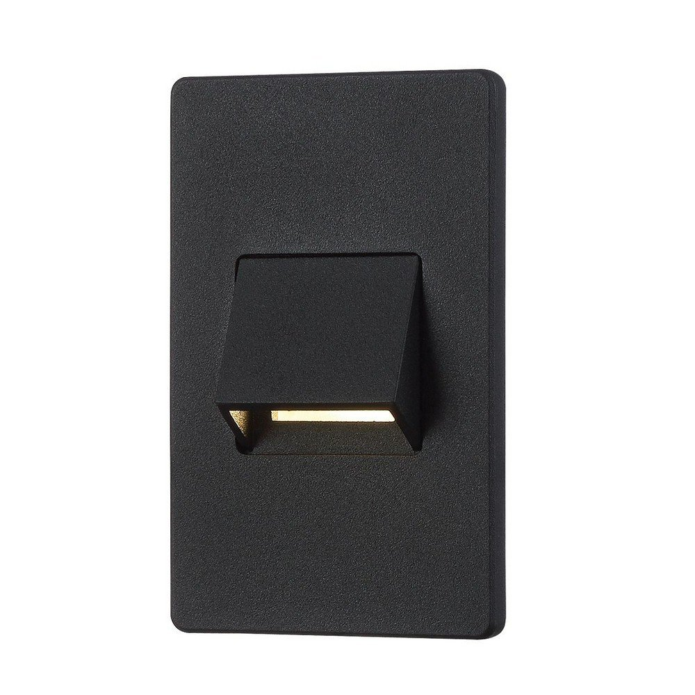 Eurofase 30289-024 in-Wall Outdoor LED, Black