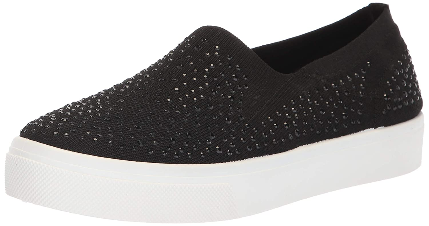 Skechers Women's Poppy Studded Affair. Scattered Rhinestud Knit Slip On. Sneaker