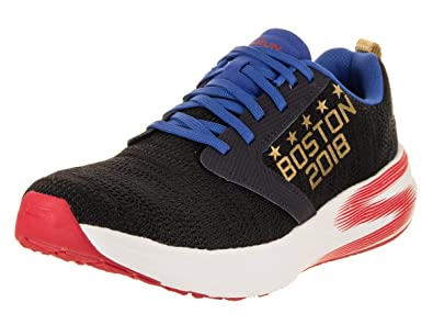 a3416f4ea6 Skechers Women s Go Run Ride 7 - Boston Marathon 2018 Navy Training Shoe 6  Women US
