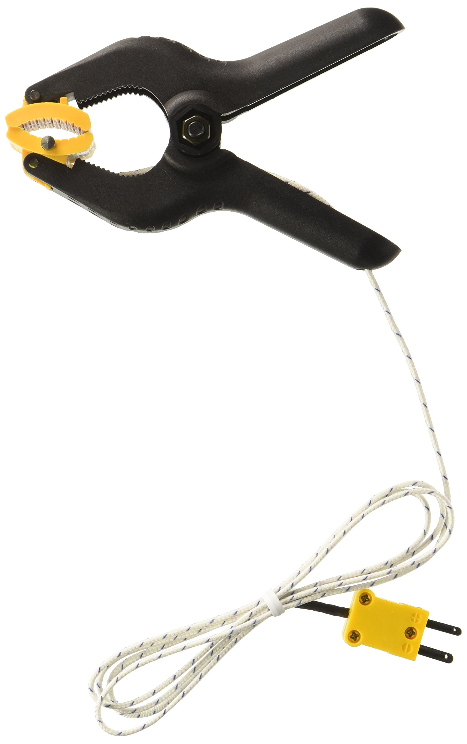 General Tools TPC20 K Type Pipe Clamp Thermocouple Probe with Extendable Cord