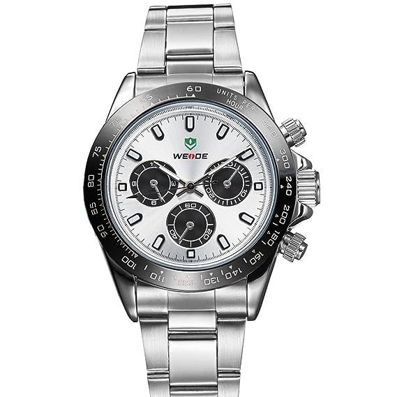 En Venta genuino relojes originales Relojes de pulsera deportivo de la aleación al por mayor de la versión coreana de los Hombres W: Amazon.es: Relojes
