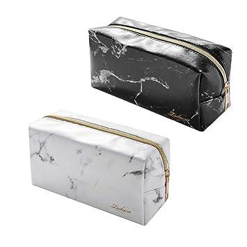 4562b0cc2cf1 Amazon.com   Marble Cosmetic Bag  2 Pack