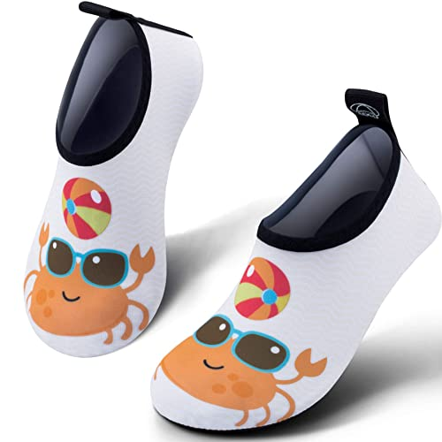 3cec5b9dc8c SIMARI Kids Water Shoes Girls Boys Toddler Quick Dry Anti Slip Aqua Socks  for Beach Outdoor