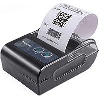 Zwbfu 58 mm Mini impressora térmica portátil Impressora de recibos sem fio USB BT Suporte a comando ESC/POS Compatível…