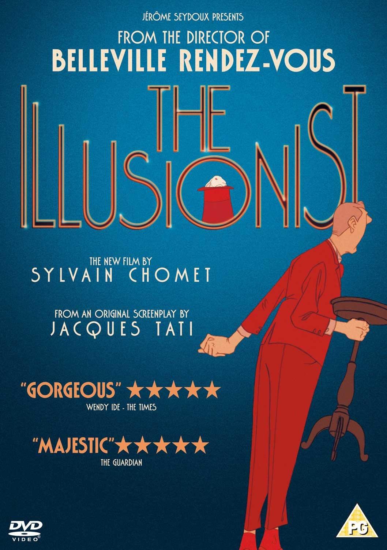 The Illusionist  DVD   2010   Amazon.co.uk  Jean-Claude Donda ... b75b8473c38