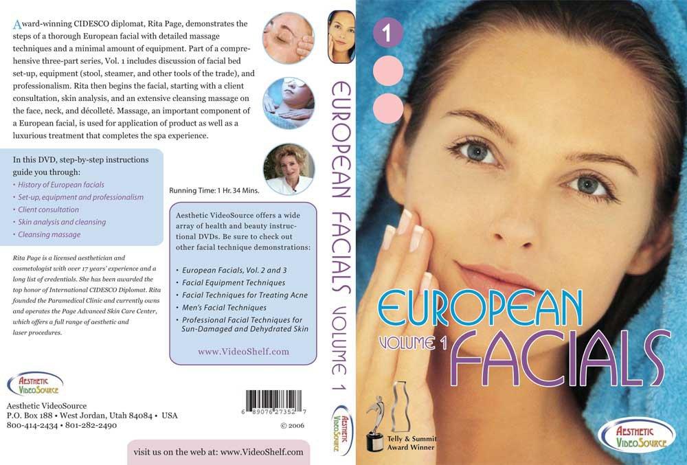 Instructional esthetic facial message