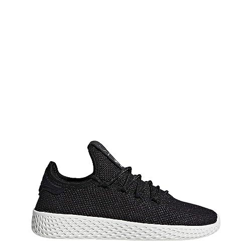781672a0a46 adidas Unisex Kids' Pw Tennis Hu C Fitness Shoes, Black (Negbás/Negbás