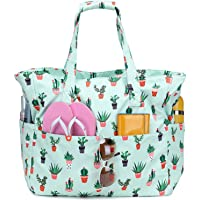 Waterproof Beach Tote Pool Bags for Women Ladies Extra Large Gym Tote Carry On Bag with Wet Compartment for Weekender…