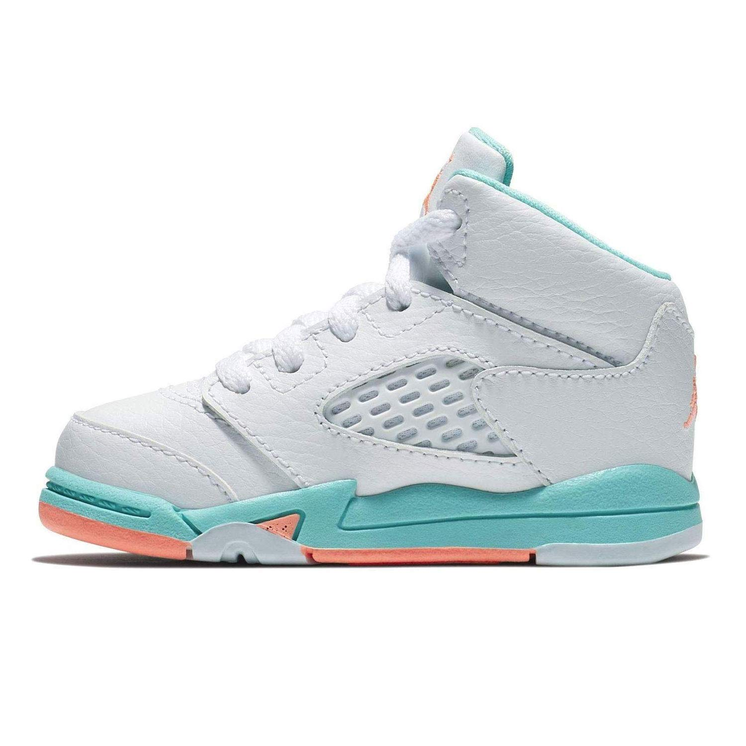 e0a8bc7a189f Amazon.com  Nike Jordan 5 Retro (td) Toddler 725172-100  Shoes