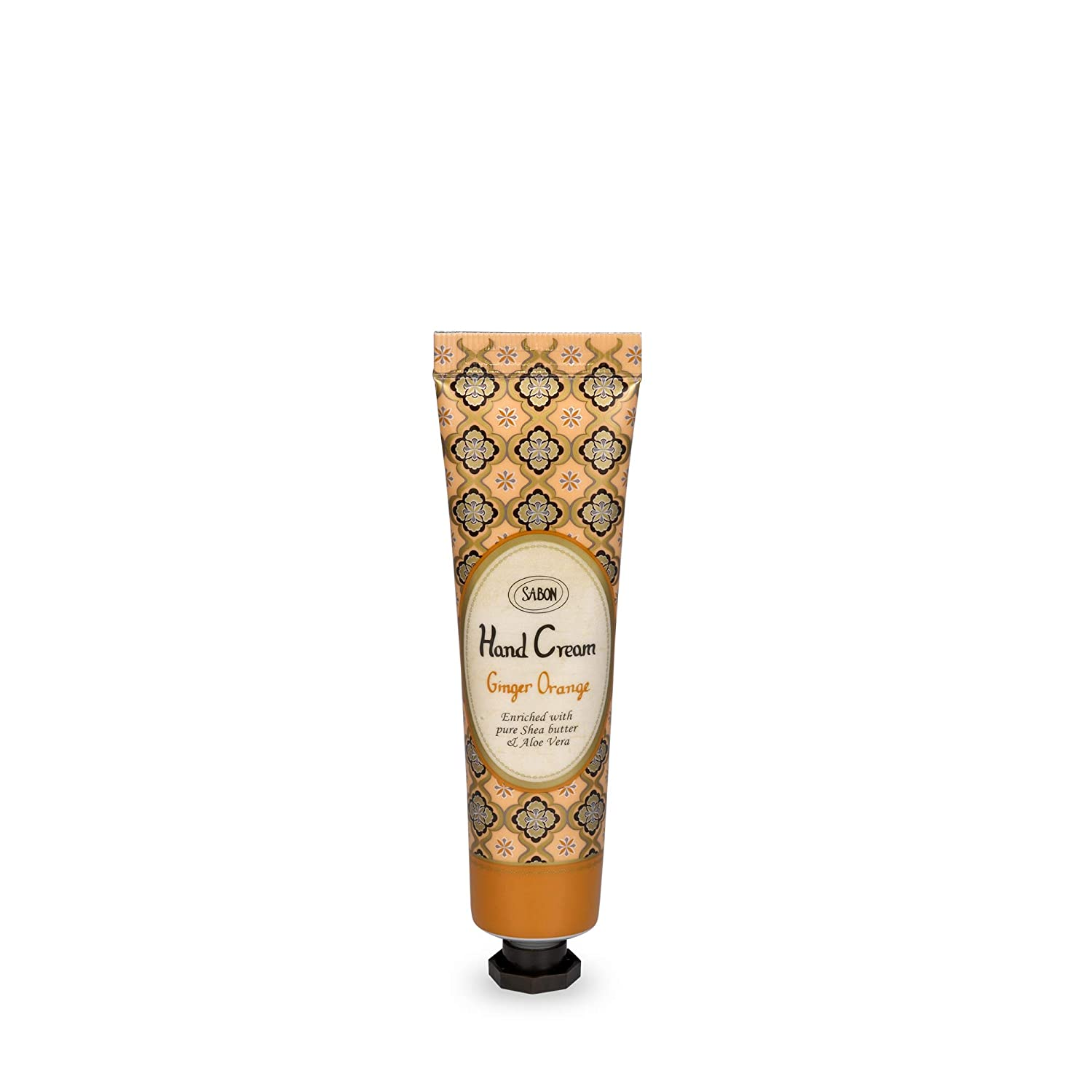SABON Sabon - Mini Hand Cream - Hand Sanitizer with Aloe Vera Extracts and Shea Butter - SLS and Paraben Free - Ginger Orange, Ginger Orange, 30 ct.