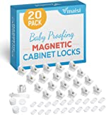 20 Pack Magnetic Cabinet Locks Baby Proofing - Vmaisi Children Proof