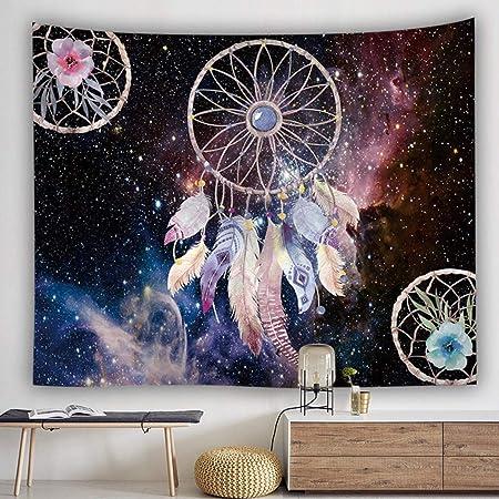 tissu de polyester D/écoration murale /à suspendre Couverture Tapis de yoga d/écoratifs Tapisserie pour le salon la chambre /à coucher Coffee 200 X 150cm Brique de tapisserie