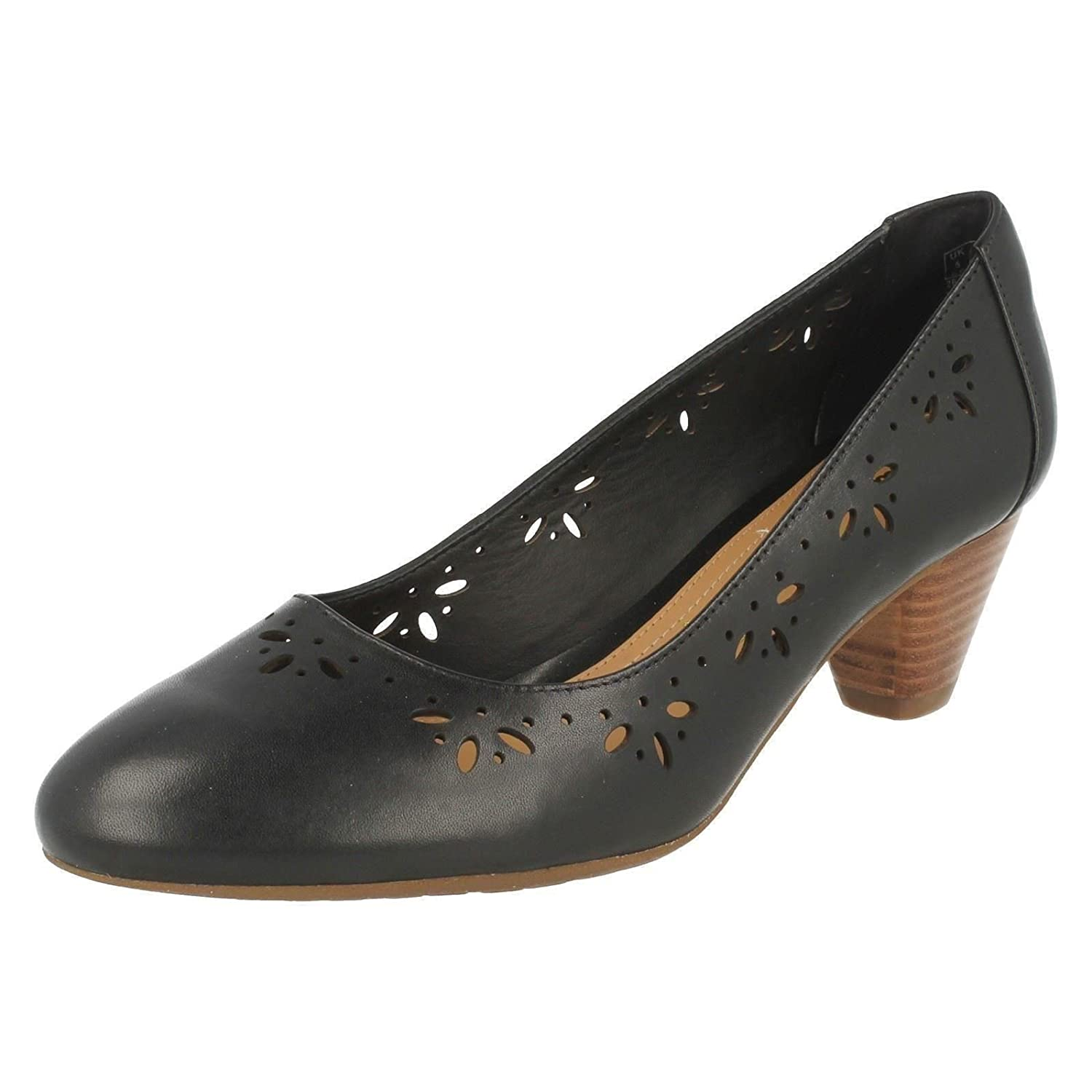 Clarks Denny Harbour, Women's Closed Toe Pumps: Amazon.co.uk