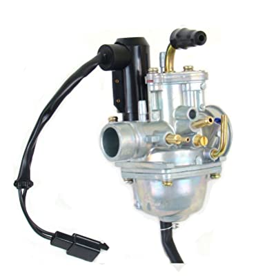 Carburetor For 2 Stroke E-TON Eton TXL50 Lightning Viper 50( electric choke): Automotive