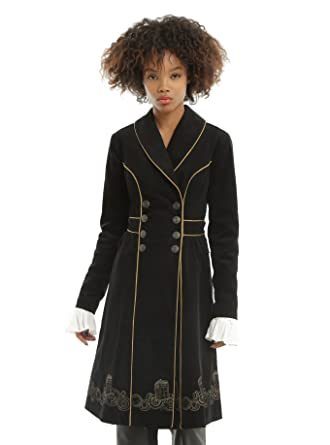ca68db98575d3 Image Unavailable. Image not available for. Color  Doctor Who Embroidered  TARDIS Corduroy Coat ...