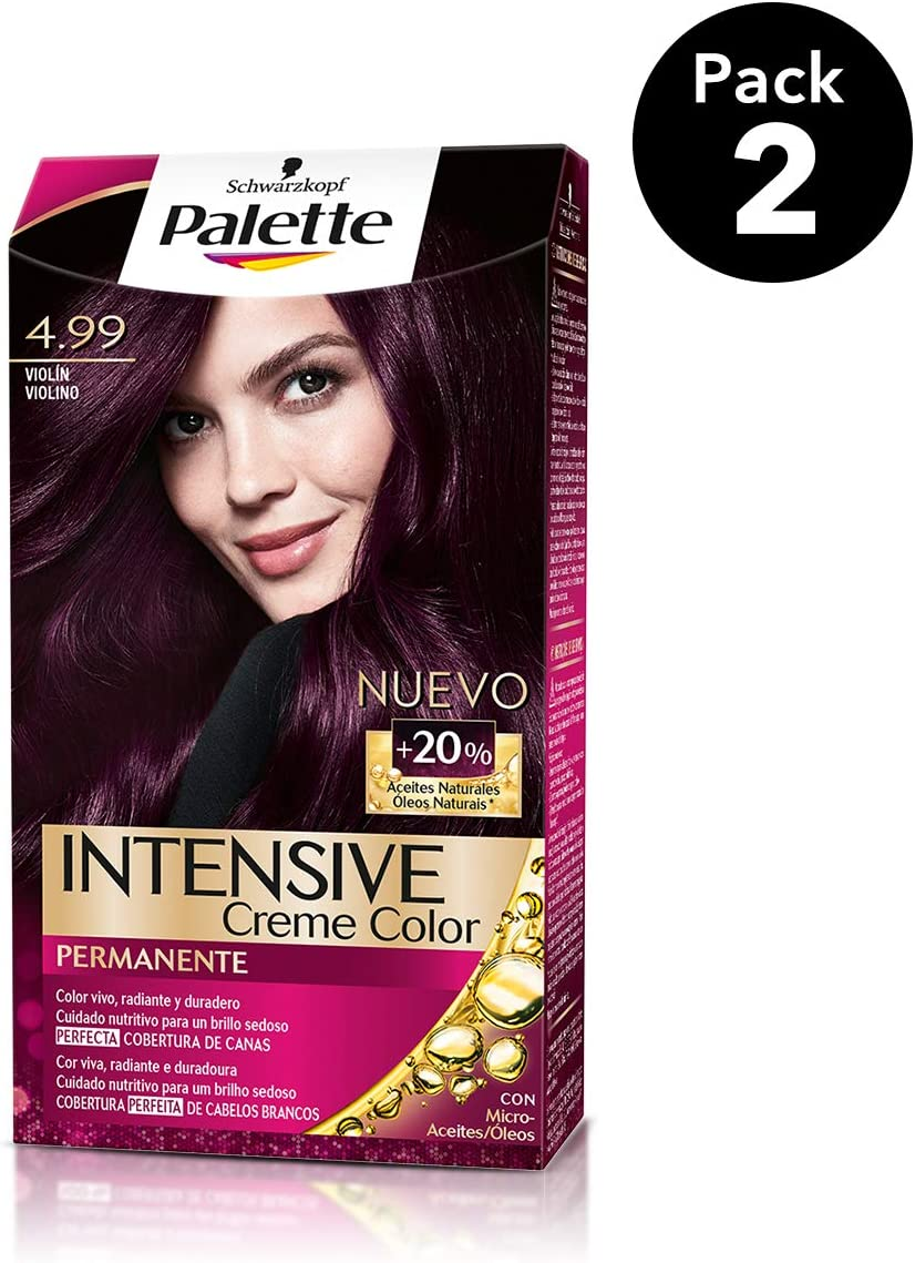 Palette Intense - Tono 4.99 Violín - 2 uds - Coloración ...