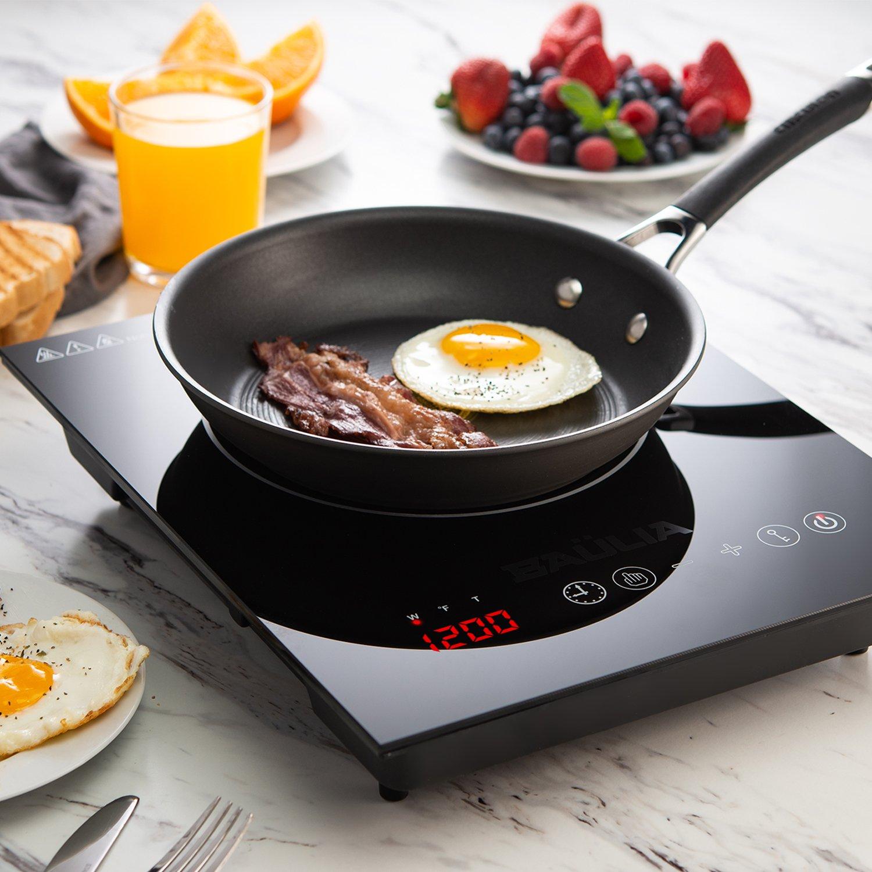 Amazon.com: Baulia Inducción Cocina / Quemador Único Tacto ...