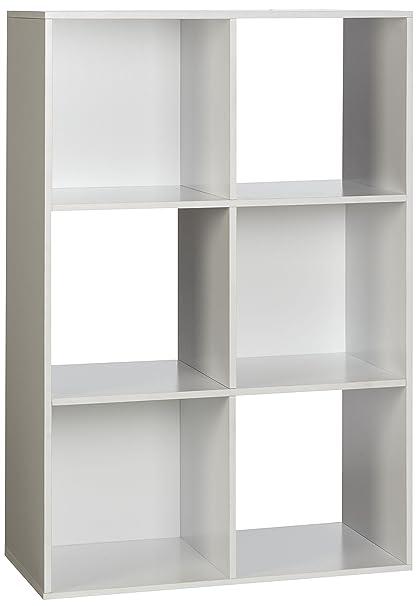 OneSpace 6-Cube Organizer, White