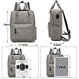 Galaxy Wolf Trendy Laptop Backpack Cute Travel