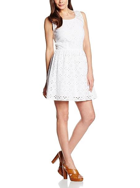 Cortefiel Vestido Blanco L