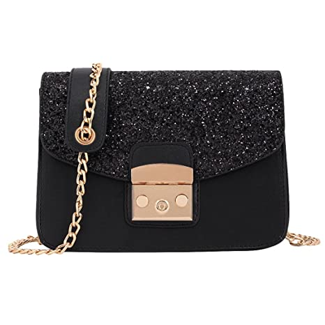 173b36105a36 Buy Candice Shiny Sequins PU Leather Handbag Shoulder Bag Crossbody ...