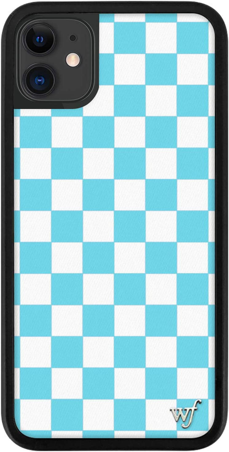 Plaid iPhone Case with Optional Pop Up Stand Add On
