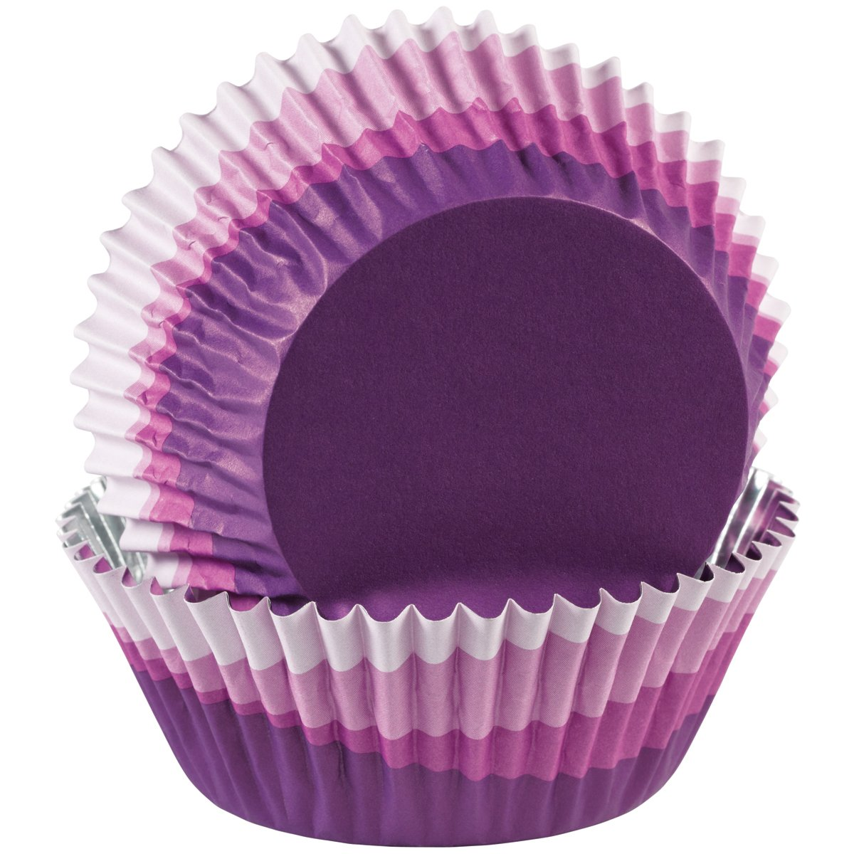 Wilton ColorCup Standard Baking Cups, Purple Ombre, 36-Pack Notions - In Network 415-0632